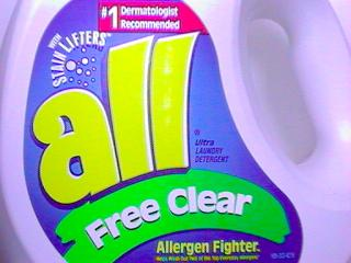 All Free Laundry Detergent